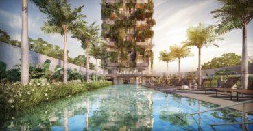 Incorporadora lança empreendimento residencial com mata atlântica na fachada